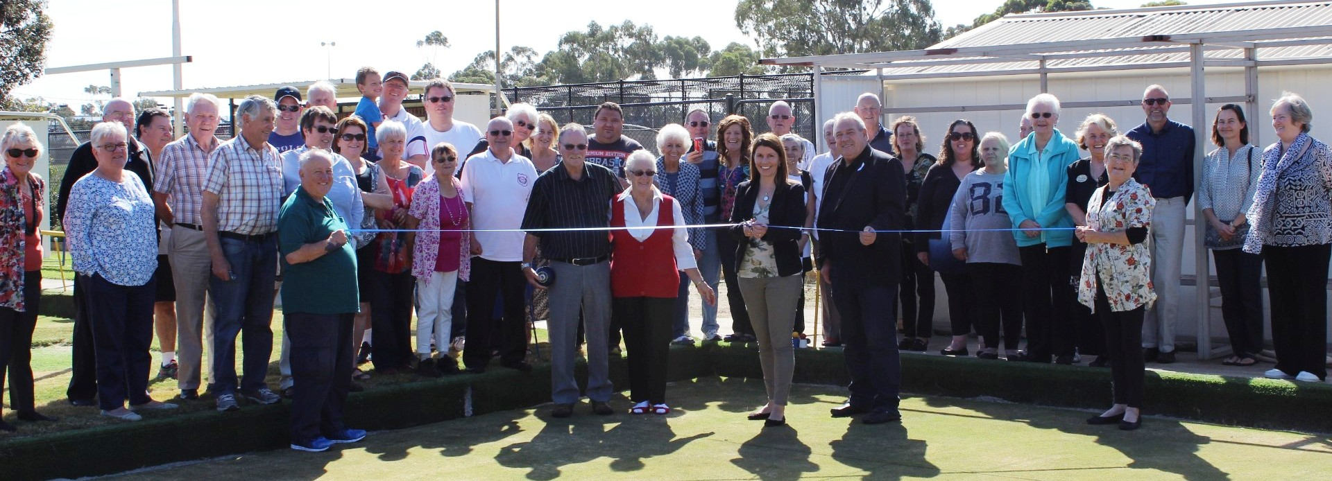Opening of the tiff green for Lsverton social bowls