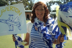 Laverton supporter